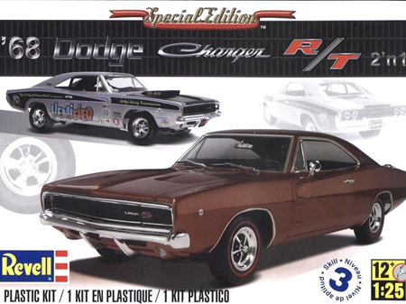 Revell 1/25 1968 Dodge Charger (2 'n 1)