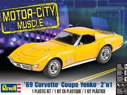 Revell 1/25 1969 Corvette Coupe Yenko 2n1
