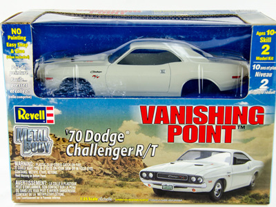 Revell 1/25 1970 Vanishing Point Dodge Challenger Die-cast kit