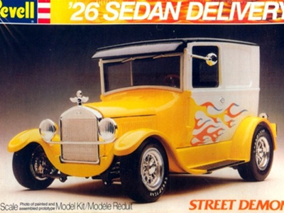 Revell 1/25 26 Sedan Delivery