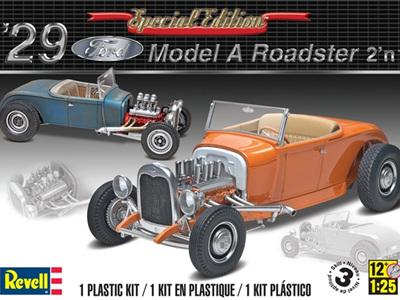 Revell 1/25 29 Ford Model A Roadster 2n1