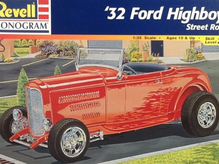Revell 1/25 32 Ford Highboy
