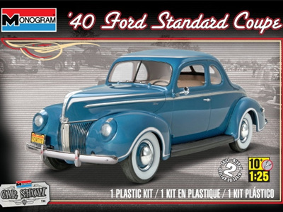 Revell 1/25 '40 Ford Standard Coupe