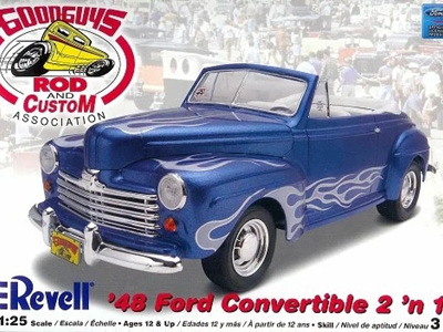 Revell 1/25 48 Ford Convertible 2n1 'Goodguys'