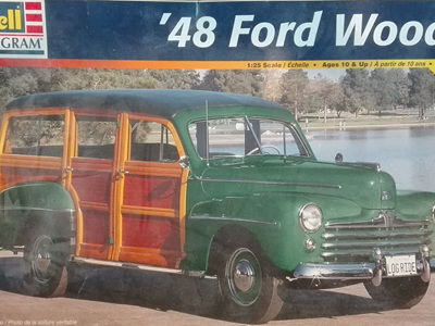 Revell 1/25 48 Ford Woody