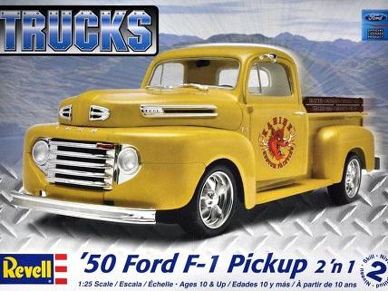 Revell 1/25 '50 Ford Pickup 2 'n 1