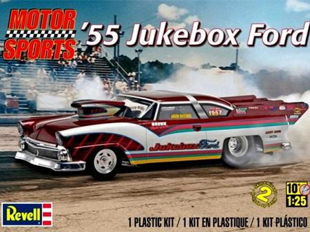 Revell 1/25 '55 Jukebox Ford