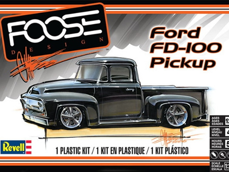 Revell 1/25 56 Ford FD-100 Pickup 'Foose Design'