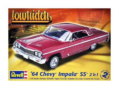 Revell 1/25 64 Impala Hardtop Lowrider 2n1