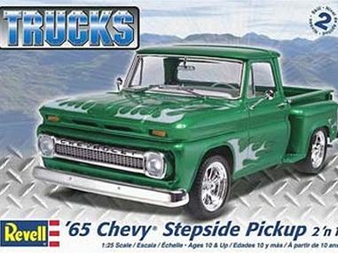 Revell 1/25 65 Chevy Stepside Pickup (2 'n 1)