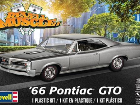 Revell 1/25 66 Pontiac GTO