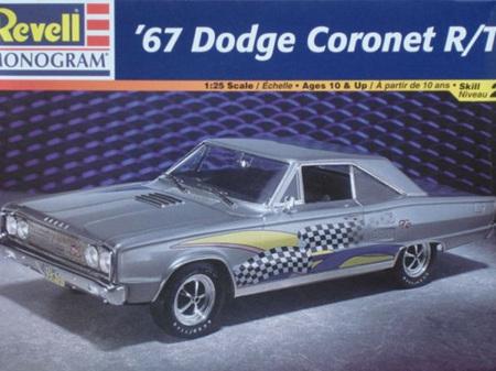 Revell 1/25 67 Dodge Coronet R/T