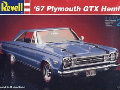 Revell 1/25 67 Plymouth GTX Hemi