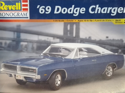 revell 68 dodge charger instructions