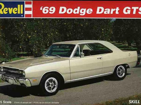 Revell 1/25 69 Dodge Dart GTS