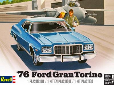 Revell 1/25 76 Ford Gran Torino