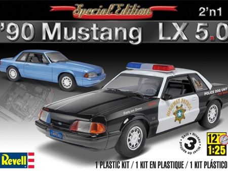 Revell 1/25 '90 Mustang LX 5.0 2 'n 1