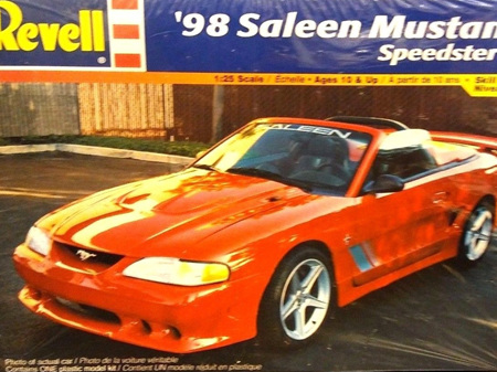 Revell 1/25 98 Saleen Mustang Speedster