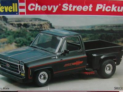 Revell 1/25 Chevy Street Pickup