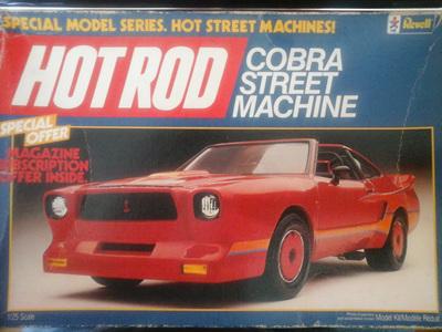 Revell 1/25 Cobra Street Machine