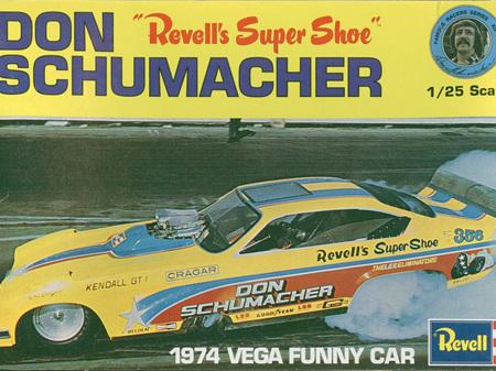 Revell 1/25 Don Schumacher Revell's Super Shoe 1974 Vega FC