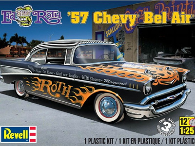 Revell 1/25 Ed Roth 57 Chevy Bel Air