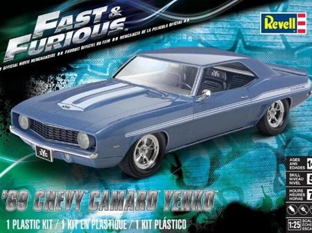 Revell 1/25 Fast & Furious 1969 Chevy Camaro Yenko