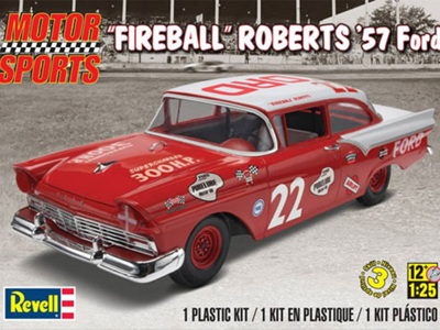 "Revell 1/25 ""Fireball"" Roberts '57 Ford"