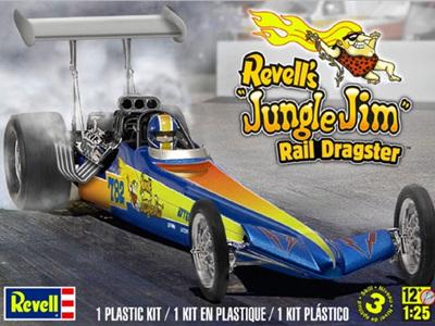 Revell 1/25 Jungle Jim Rail Dragster