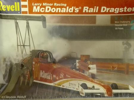 Revell 1/25 McDonald's Rail Dragster