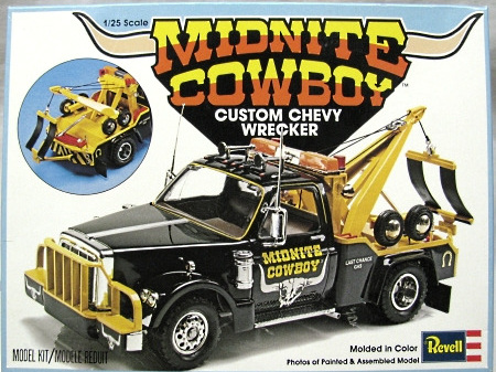 Revell 1/25 'Midnight Cowboy' Custom Chevy Wrecker