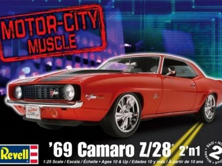 Revell 1/25 Motor City Muscle '69 Camaro Z/28® 2 'n 1