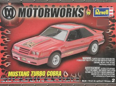 Revell 1/25 Mustang Turbo Cobra