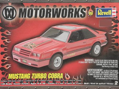 Revell 1/25 Mustang Turbo Cobra