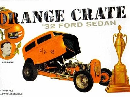 Revell 1/25 Orange Crate 32 Ford Sedan