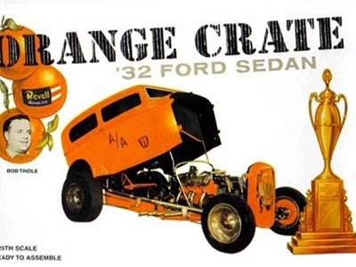 Revell 1/25 Orange Crate 32 Ford Sedan