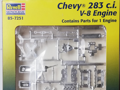 Revell 1/25 Parts Pack - Chevy 283ci Engine