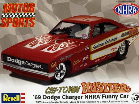 Revell 1/25 Pat Minick Chi-Town Hustler Charger Funny Car NHRA