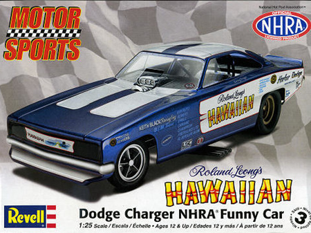 Revell 1/25 Richard Leong Hawaiian Charger NHRA Funny Car