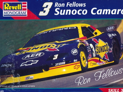 Revell 1/25 Ron Fellows Sunoco Camaro