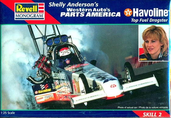 Revell 1/25 Shelly Anderson Parts America Rail Dragster