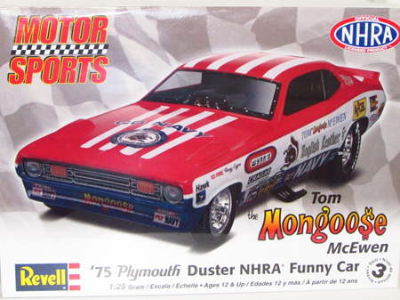 Revell 1/25 Tom McEwen Plymouth Duster