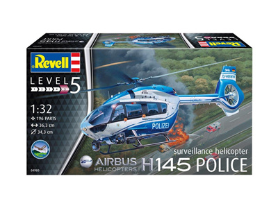 Revell 1/32 Airbus H145 Police Helicopter
