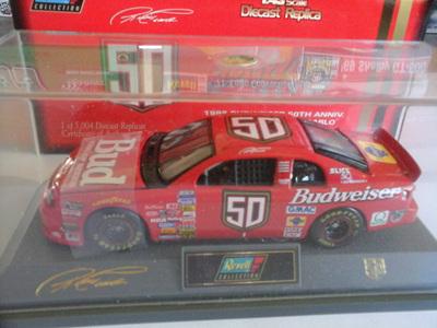 Revell 1/43 Budweiser 98  50th Anniversary Monte Carlo Die-Cast