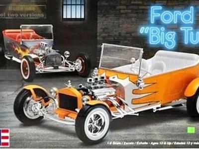 Revell 1/8 1924 Ford 'T' Big Tub 2 'n 1