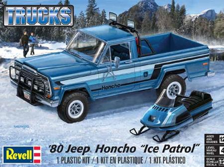 "Revell 1/24 1980 Jeep Honcho ""Ice Patrol"" (RMX7224)"