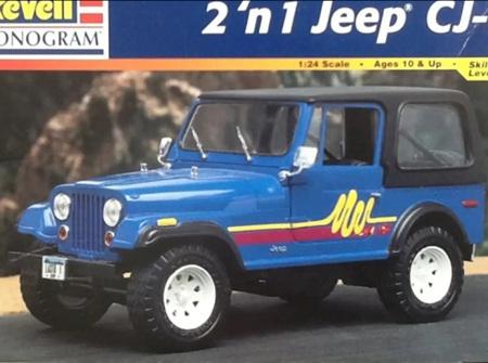 Revell 1:24 2n1 Jeep CJ-7 (RMX2966)