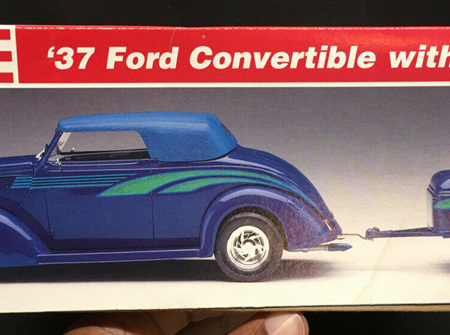 Revell 1/24 37 Ford Convertible with Trailer (RMX7245)