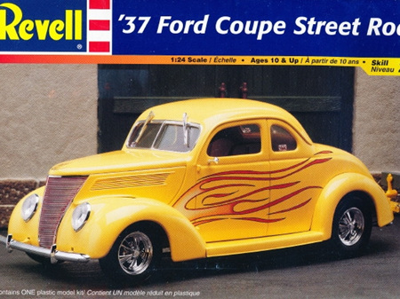 Revell 1/24 37 Ford Coupe Street Rod