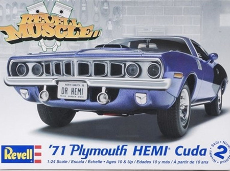 Revell 1/24 '71 HEMI® 'Cuda Hardtop (RMX2943)
